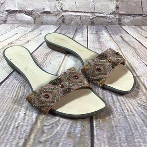 GIUSEPPE ZANOTTI SHOES Sandals Flats SIZE 9